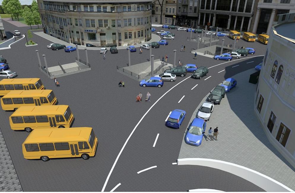 Внезапно: парковку могут сделать на Греческой площади Одессы, а не под ней (фото)
