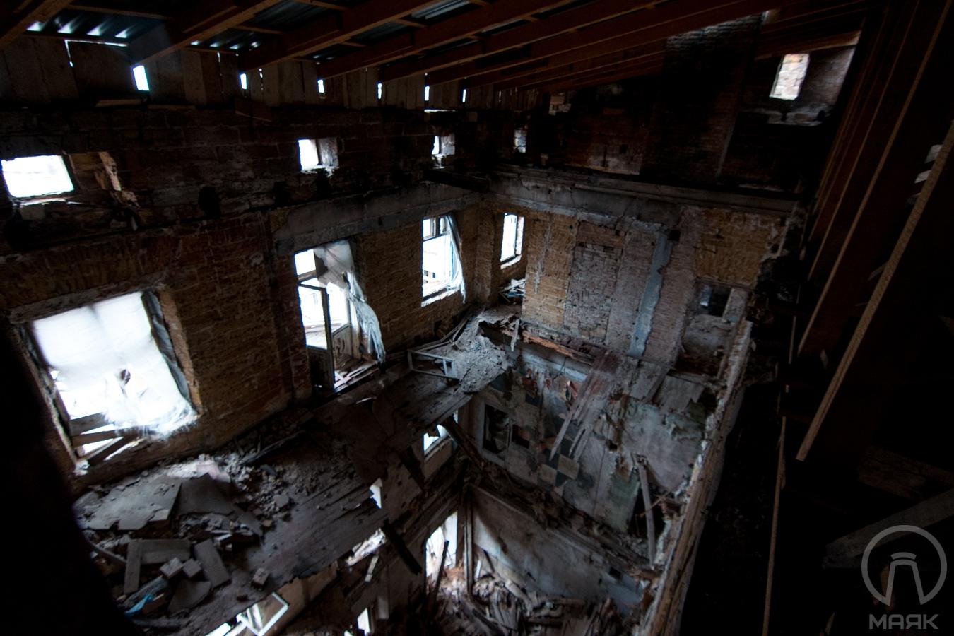 Декорации к фильму ужасов в центре Одессы: Дом Руссова (фоторепортаж)