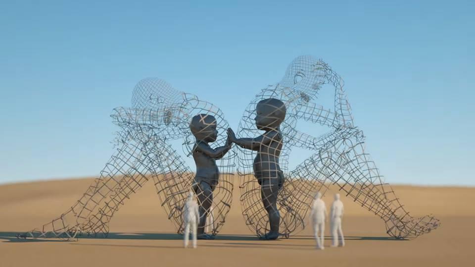 """17-метровую скульптуру """"Любовь"""" могут разместить в одном из центральных парков Одессы"""