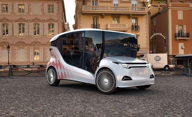 Созданный одесситами украинский электромобиль-«карету» представили в Европе (фото)