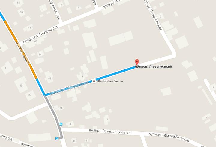 В Google Maps появились новые названия улиц Одессы