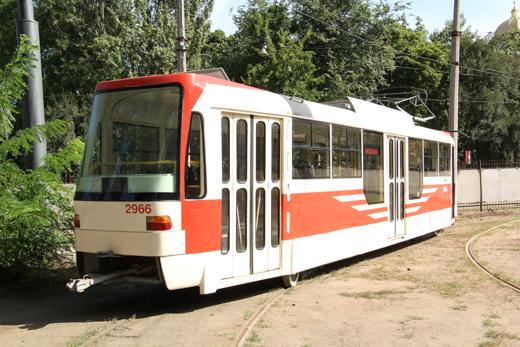 В Одессе коммунальное предприятие наладило сборку и модернизацию трамваев (фото)