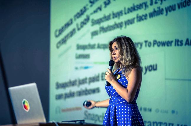 Девушки в IT: ведущий дизайнер в Snapchat Лидия Богданович