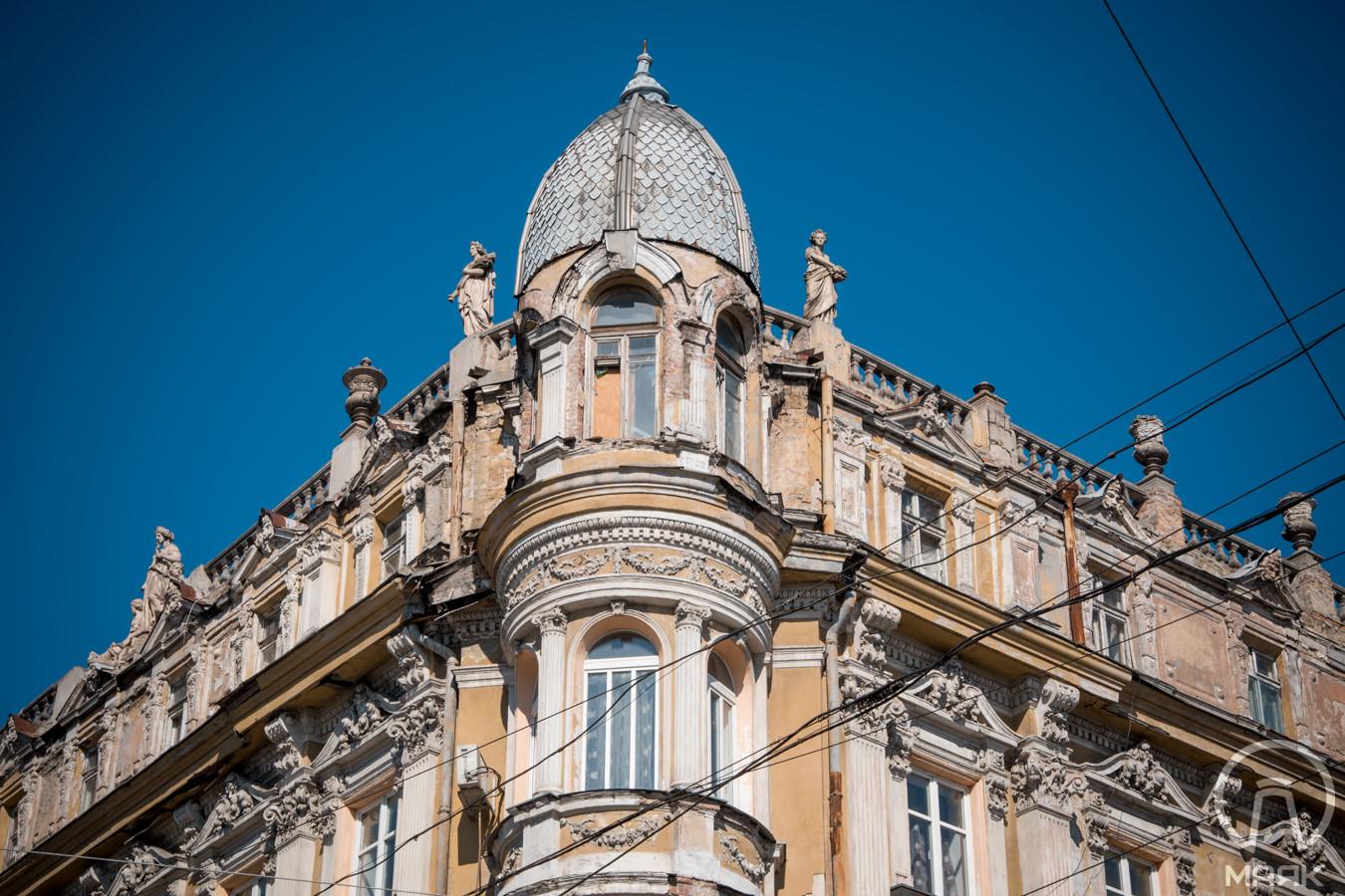 Дом Либмана: памятник архитектуры в центре Одессы, требующий реставрации