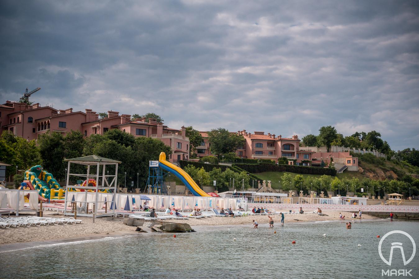 Пляжи.Некурортный город Одесса