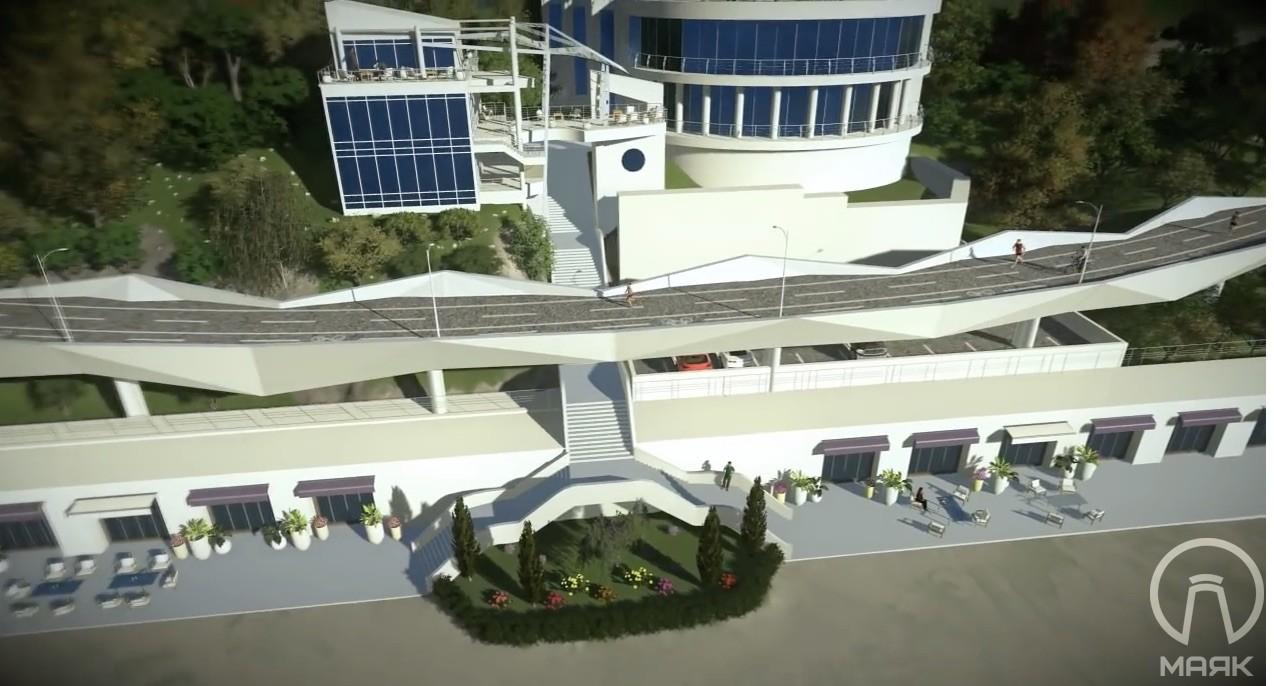 В мэрии передумали строить велопешеходную эстакаду на Трассе здоровья