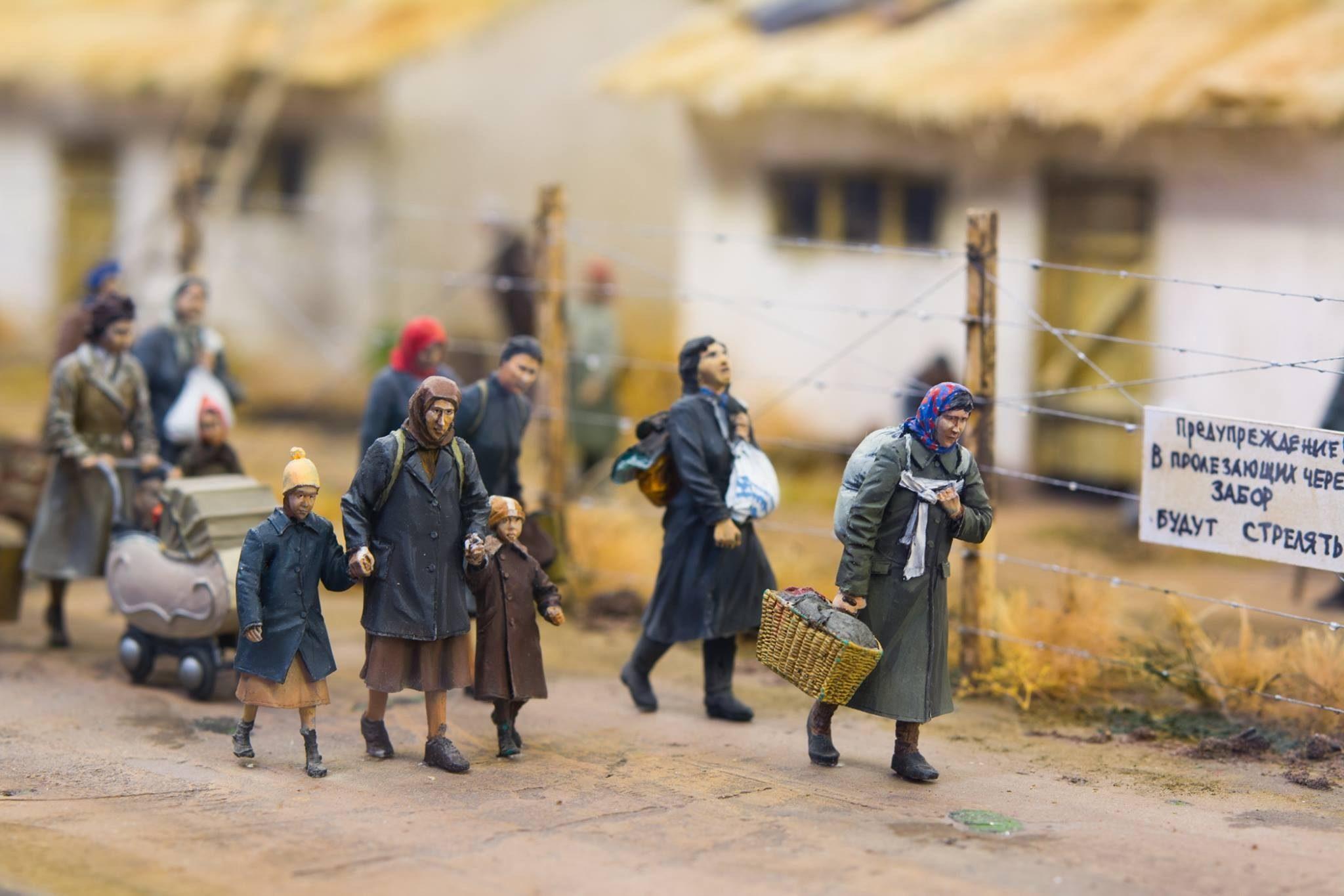 """""""Гетто в Транснистрии"""": мастер создал диораму из миниатюр для Одесского музея Холокоста"""