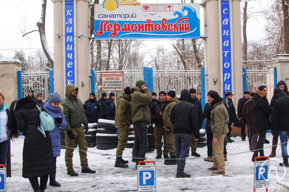 В Одессе штурмовали санаторий «Лермонтовский»