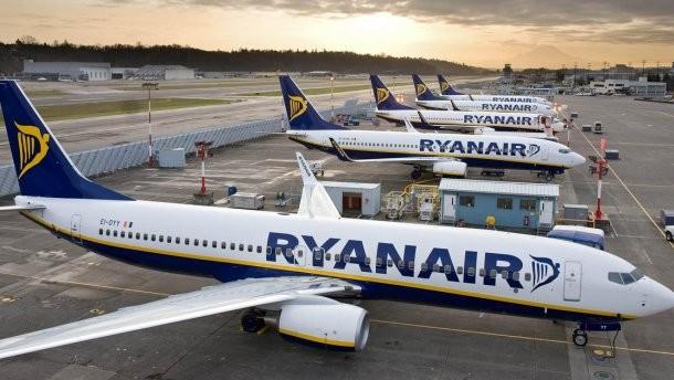 Авиакомпания-лоукостер Ryanair изучает перспективу полетов в Одессу