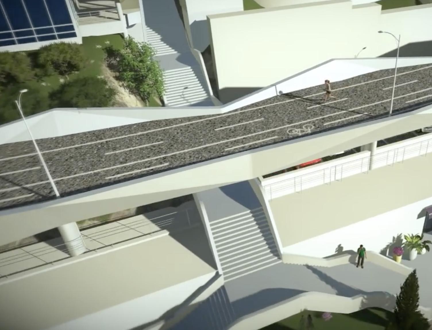 В мэрии объявили о начале строительства эстакады для продления Трассы здоровья