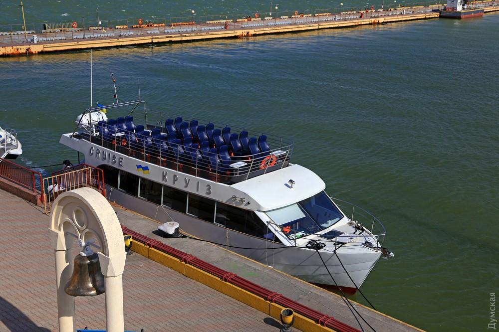 В Одессе прогулочные катера открыли сезон экскурсий вдоль побережья