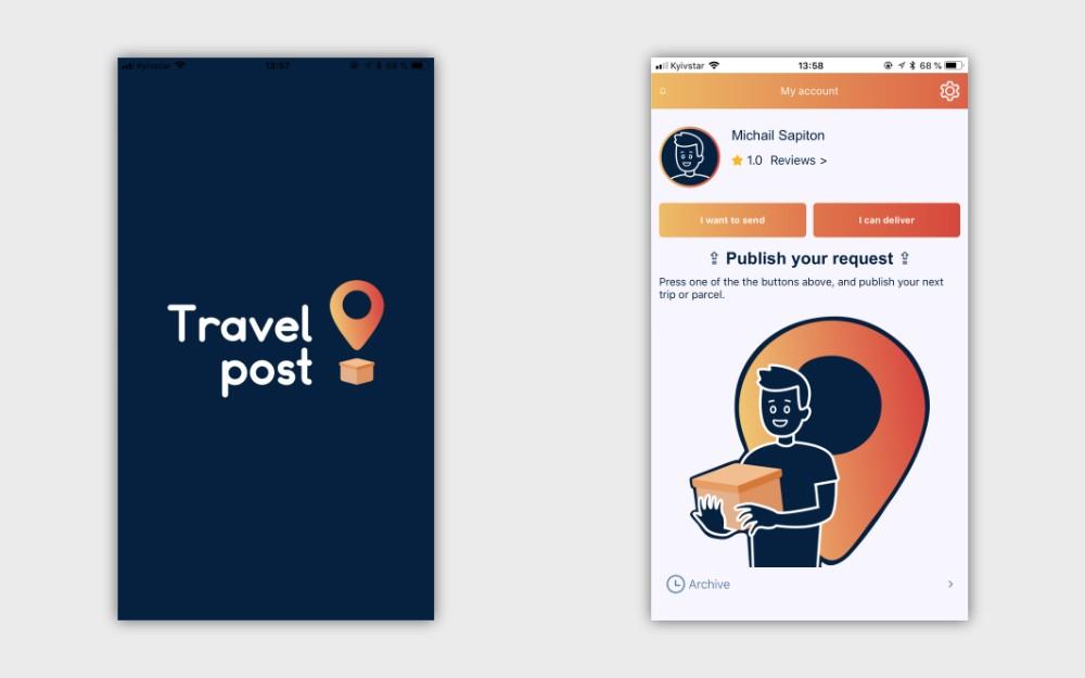 В Украине запустили сервис доставки посылок по всему миру по принципу BlaBlaCar