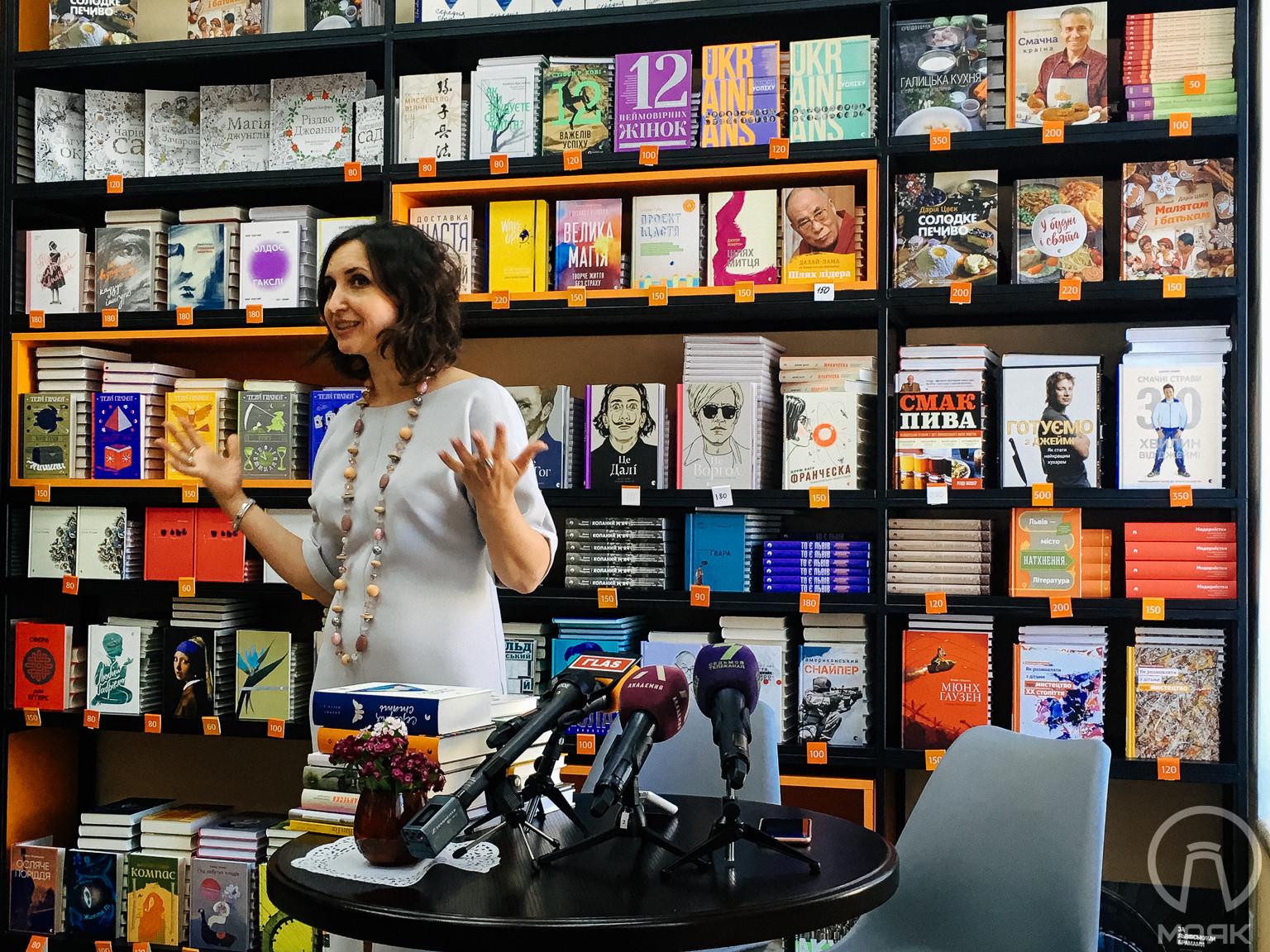 Топ-5 книг з одеської книгарні від головної редакторки «Видавництва Старого Лева»