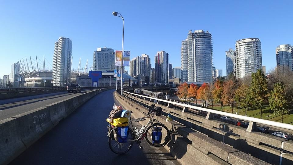 Как одессит проехал от Аляски до Мексики на велосипеде