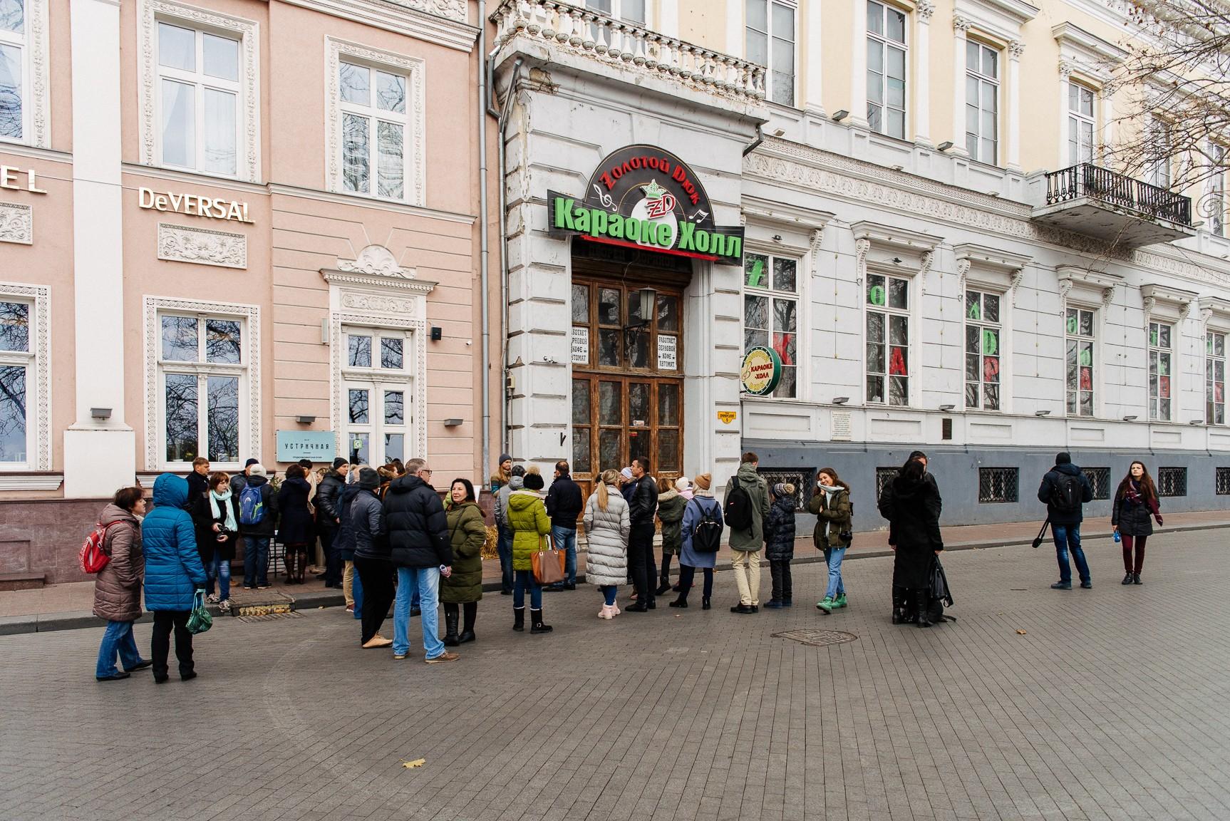 «Я ー Дворец моряков»: одесситов призывают обратиться к иностранным инвесторам стройки на Приморском бульваре