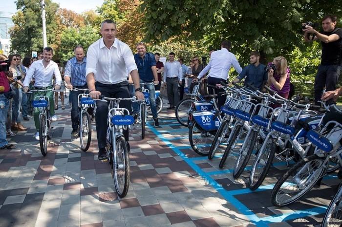 Городской велопрокат появился уже и в Киеве: 199 гривен за месячный абонемент
