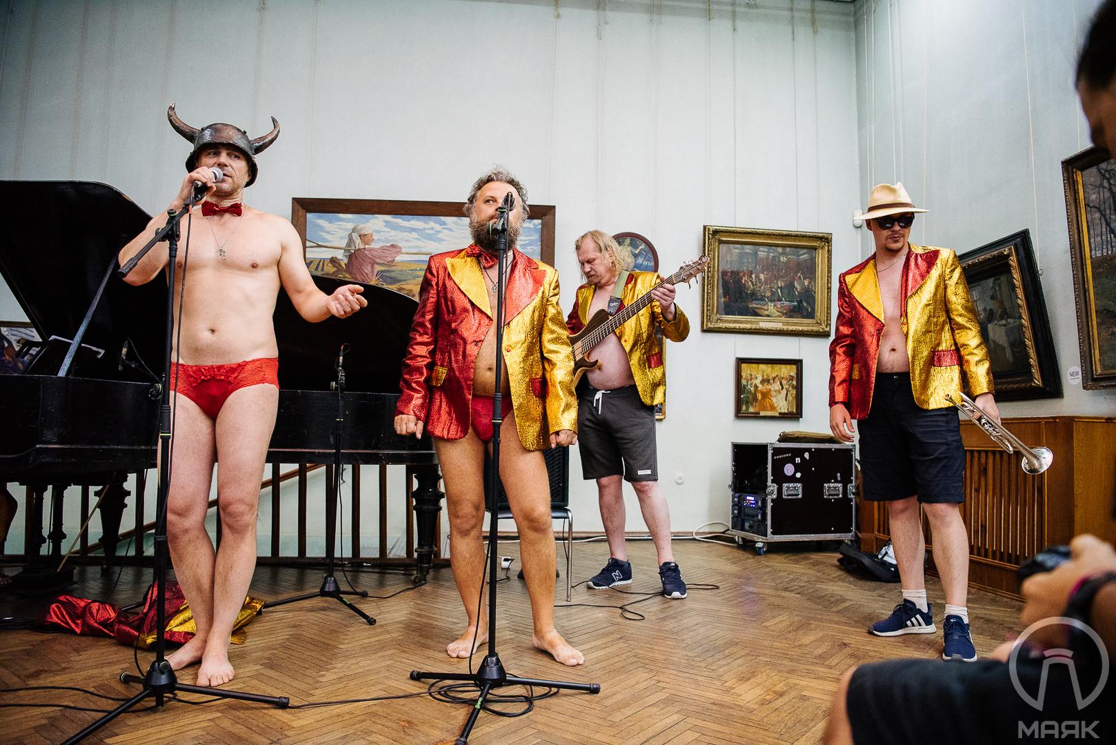 В Одессе состоялся «музейник» группы «Хамерман Знищує Віруси»