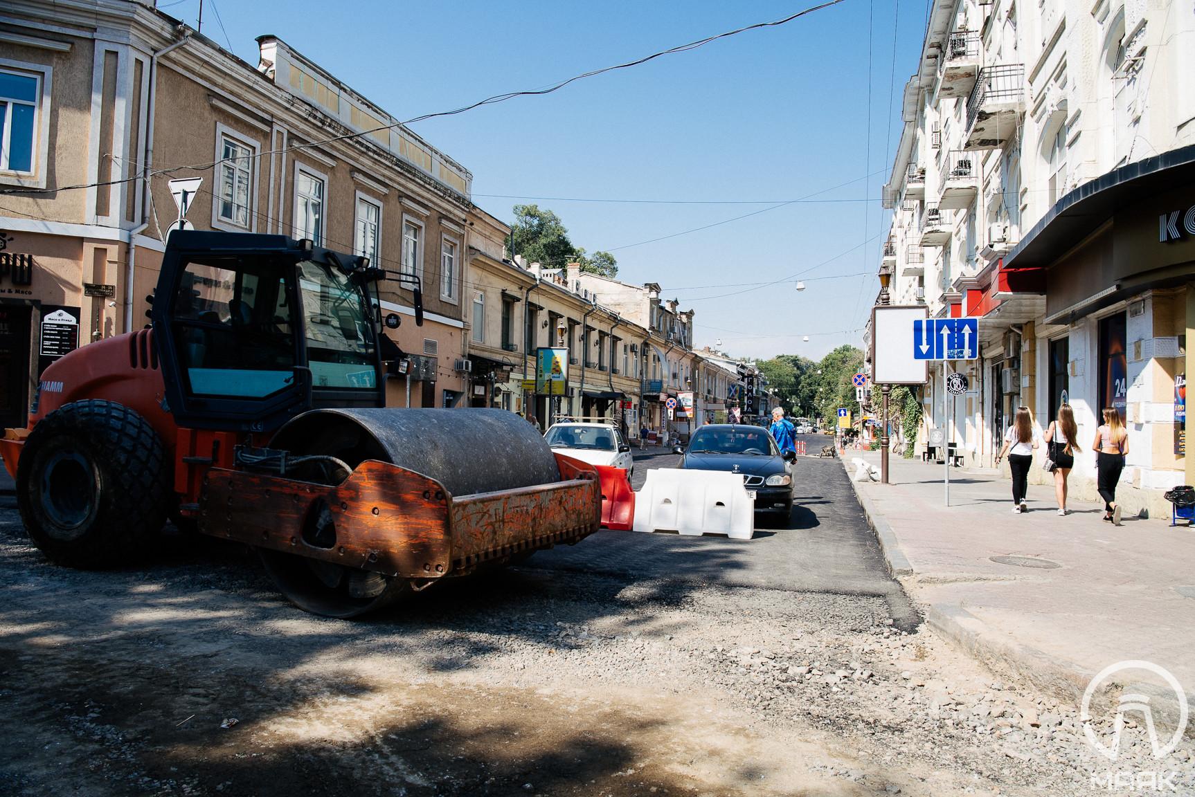На Ланжероновской закончили ремонт