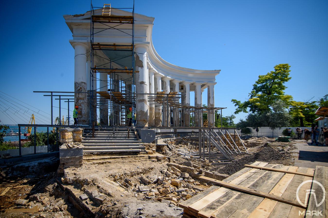 Архитектор оспорил аргументы реставраторов Воронцовской колоннады