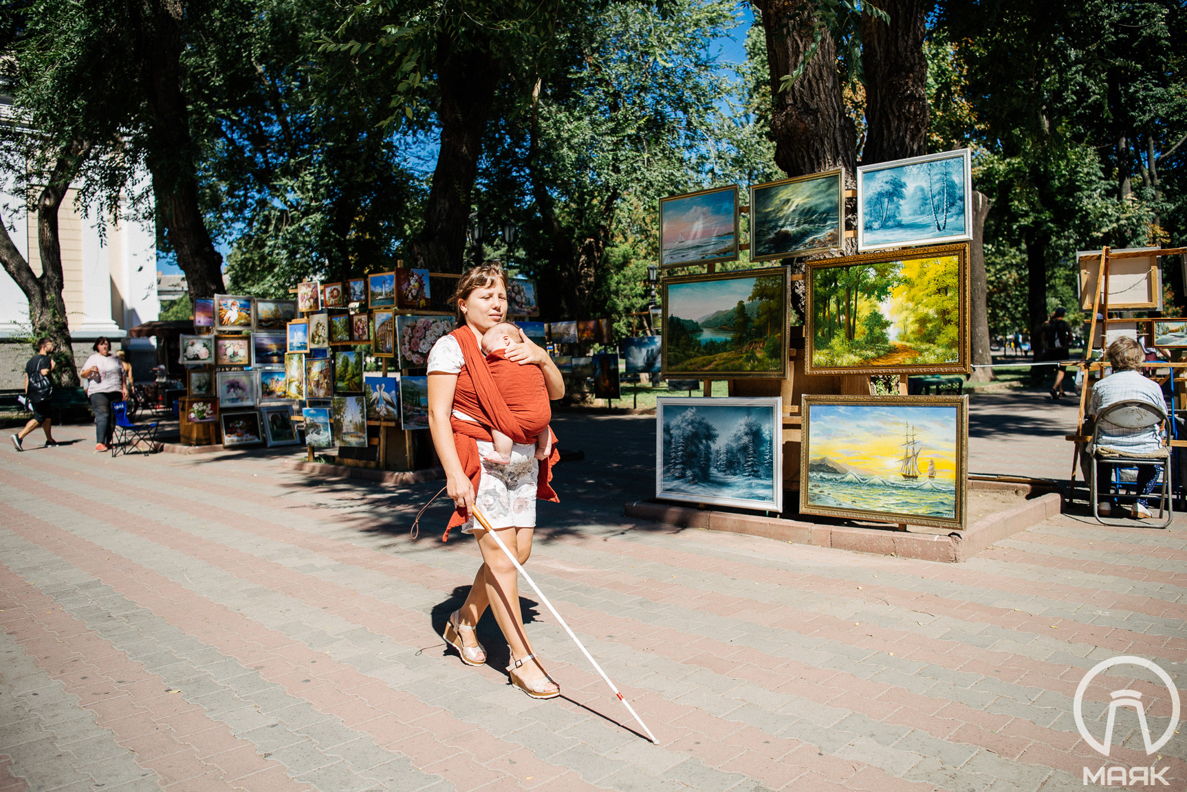 """""""Я могу все сделать сама"""", — вдохновляющая история незрячей девушки из Одессы"""