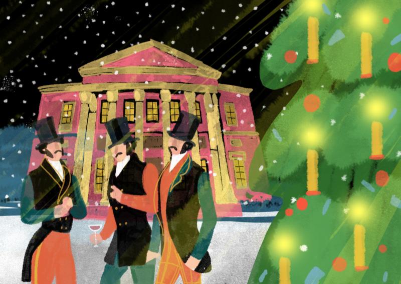 От первой елки: история празднования Нового года в Одессе