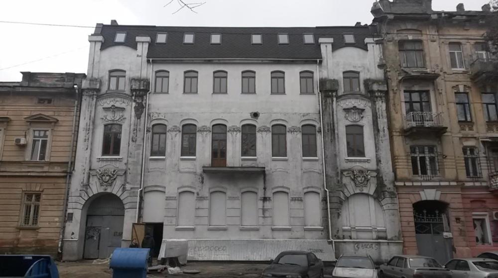 Таким дом был до реставрации