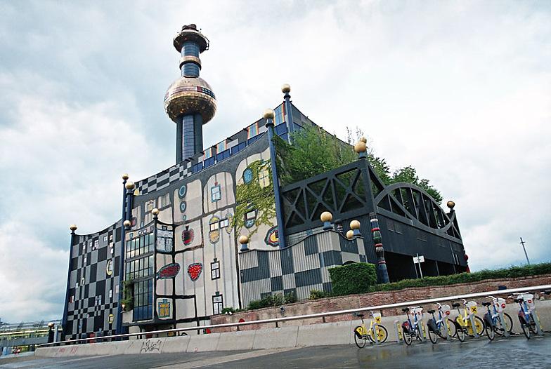 Мусоросжигающий завод в Вене.