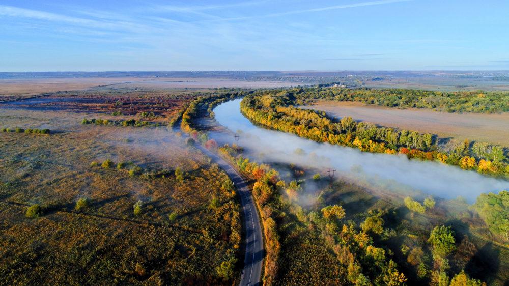 Это – Одесская область с высоты птичьего полета — Маяк