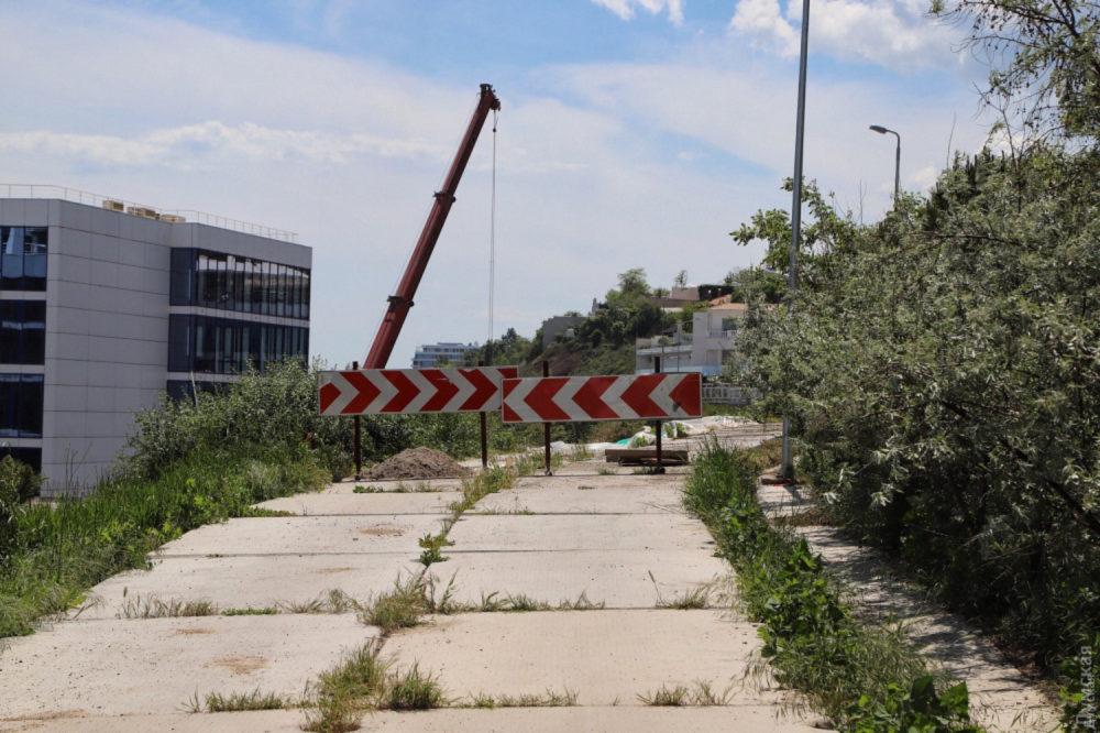 Этот участок пришлось разобрать. Фото — «Думская».