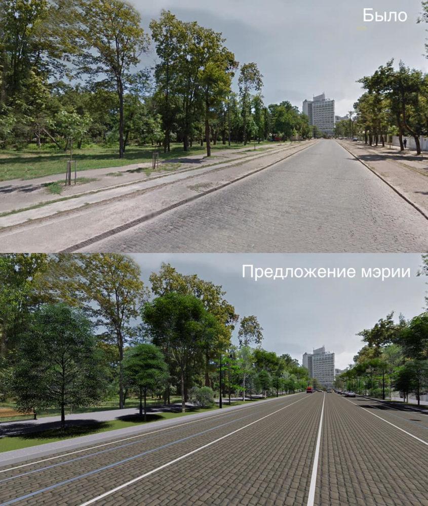 Проект мэрии. Фото — Константин Емельянов.