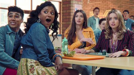 Кадр из сериала Sex Education здесь и на превью.