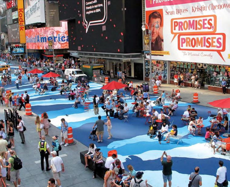 Нью-Йорк, США. Фото — Asphalt Art Guide.