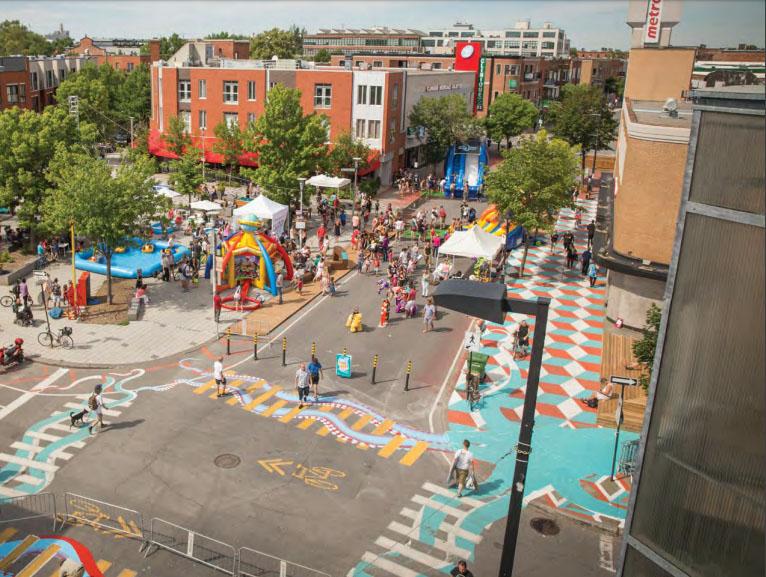 Монреаль, Канада. Фото — Asphalt Art Guide.