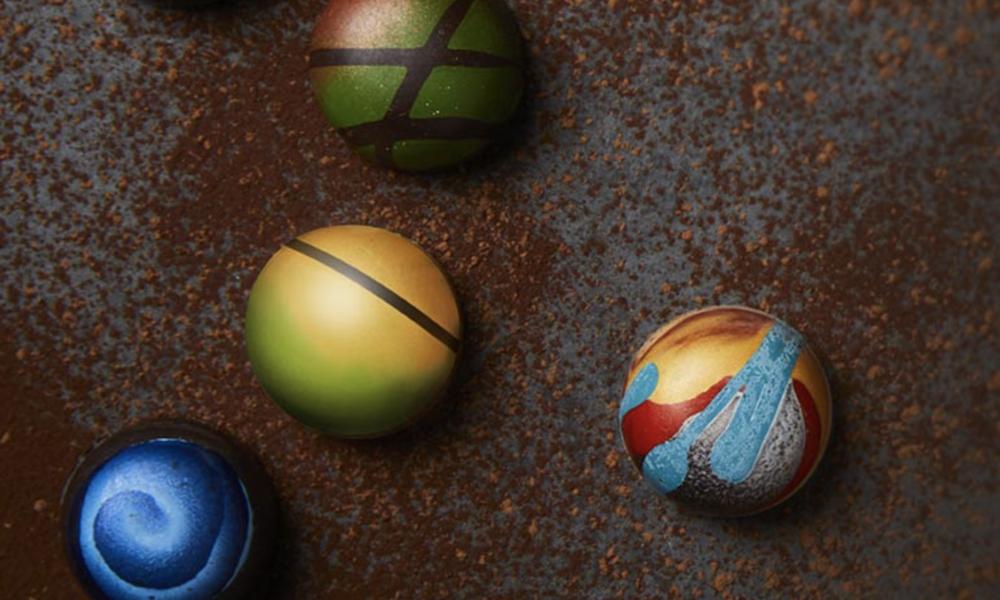 Вот так выглядят трюфельные конфеты с каннабисом.