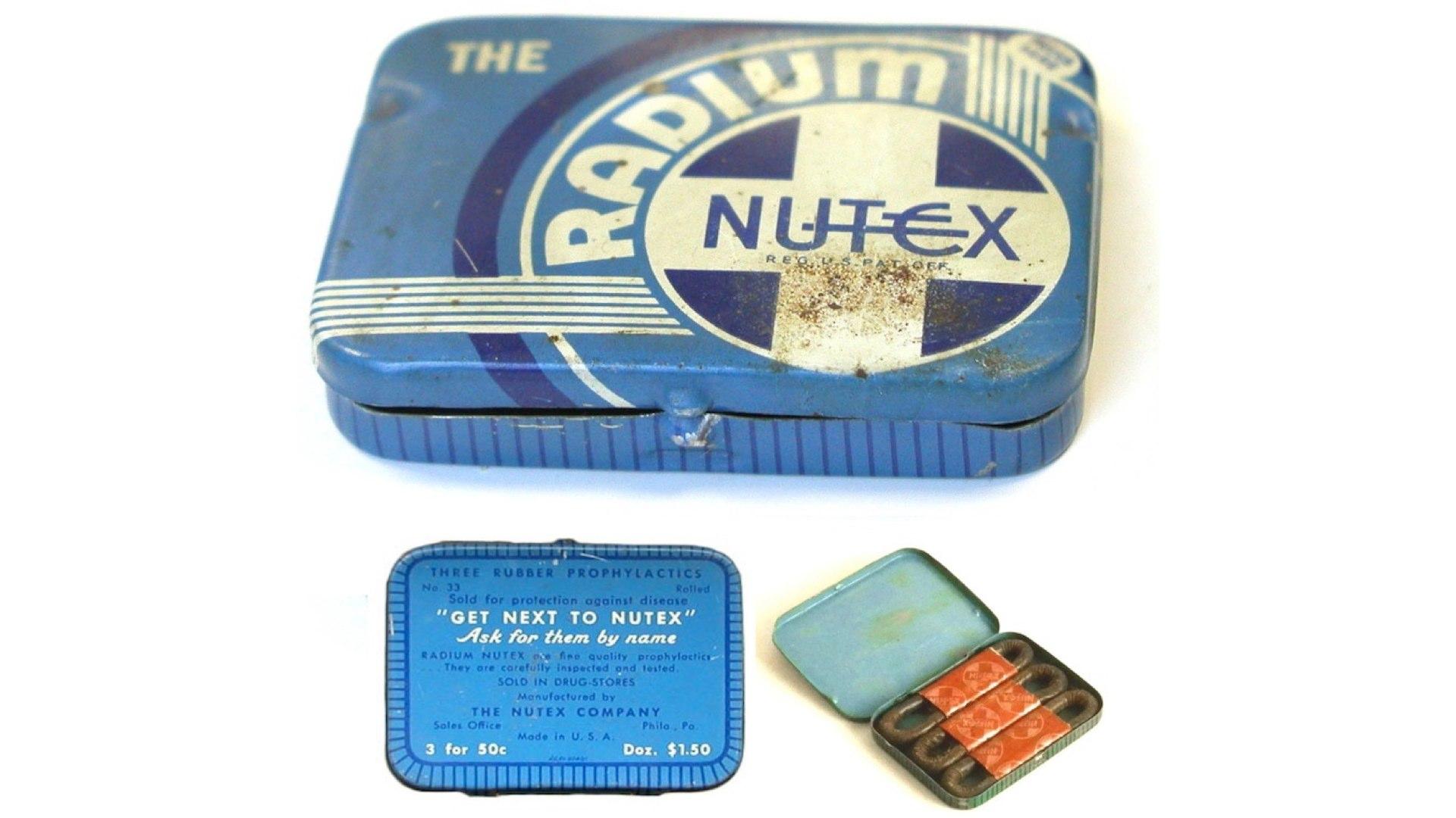Презервативы Nutex не содержали радий. Просто «радий» в описании добавлял продукту статусности и элитарности.