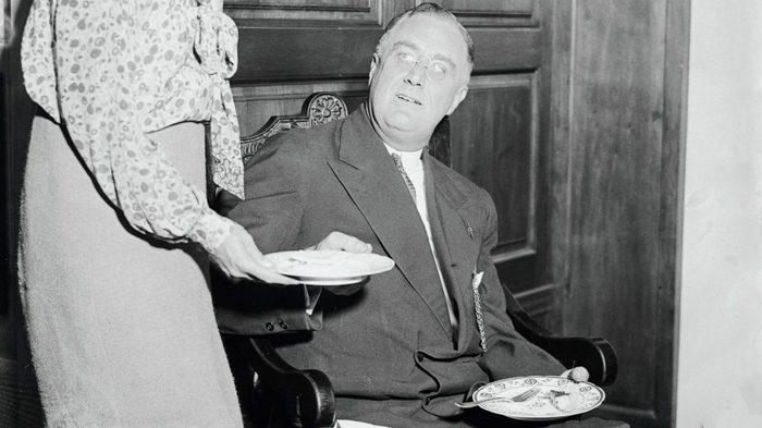 Президент Рузвельт и, возможно, тот самый пудинг.