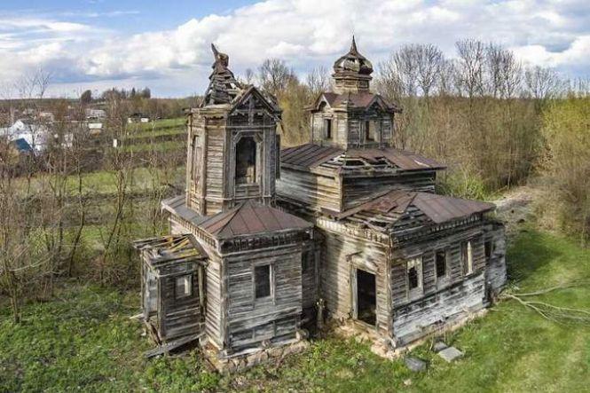 Таким храм был до начала реставрации. Фото —«20 хвилин».