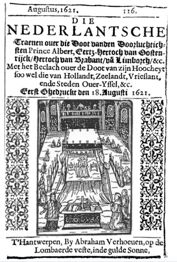 Первое иллюстрированное печатное издание Авраама Верховена.