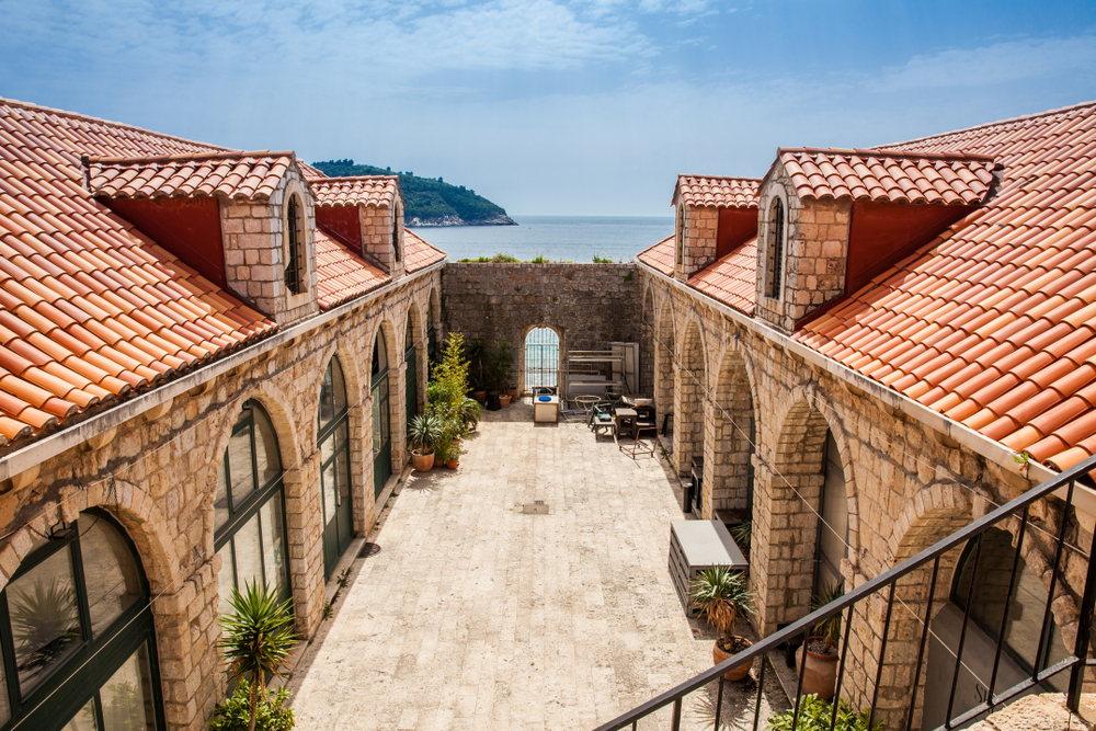 Часть комплекса Лазаретто в Дубровнике.