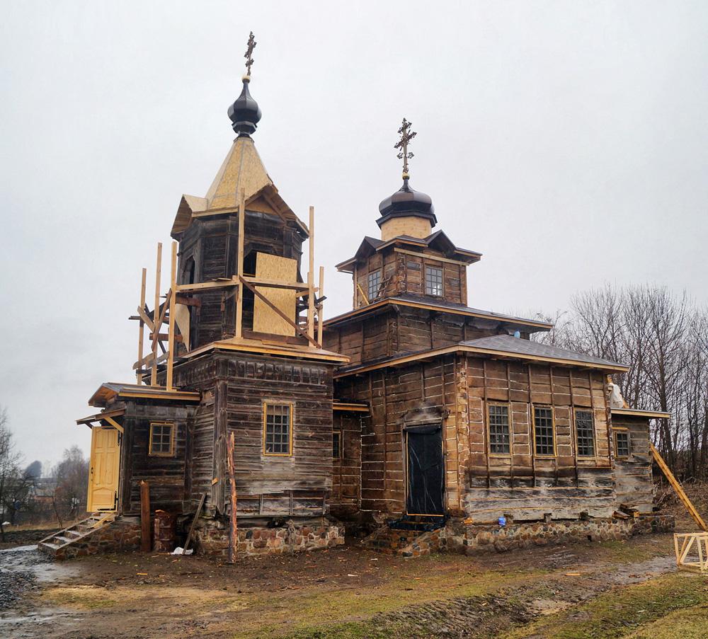 В процессе реставрации. Фото —«Україна Інкогніта»