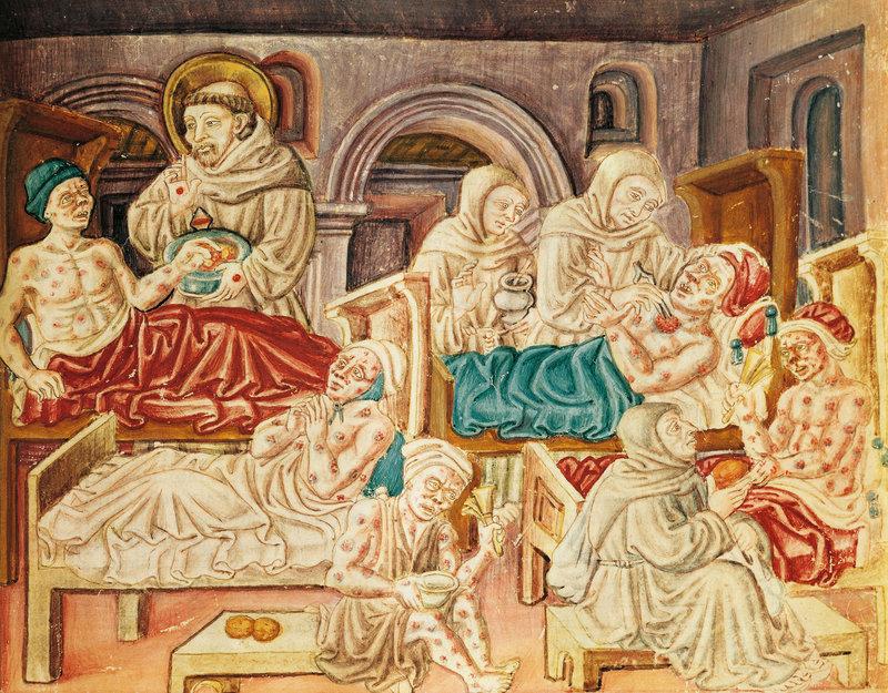 La Franceschinacodex.Jacopo Oddi. XV век.