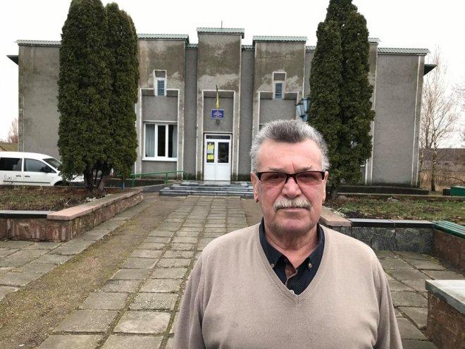 Староста Студеницы Василий Матвийчук.Фото — «Сільське життя»