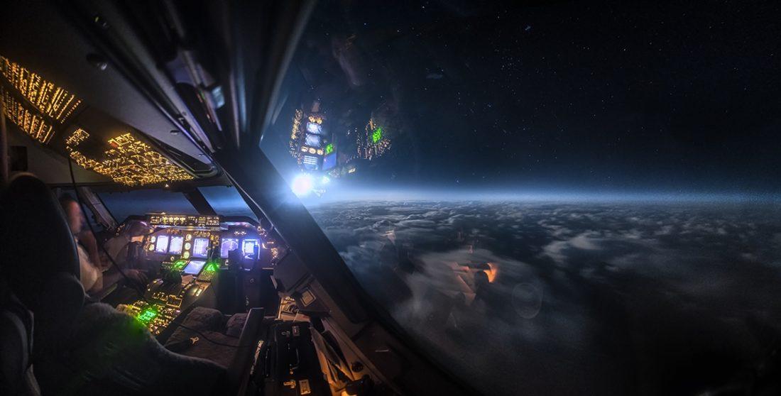 Третье место — «Лунный свет над Атлантическим океаном». Кристиан ван Хейст. 2020 год.