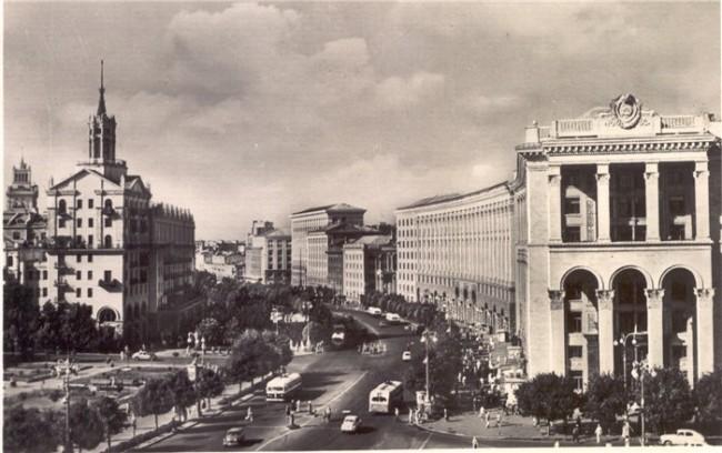 Готовое здание. Снимок 1959 года.