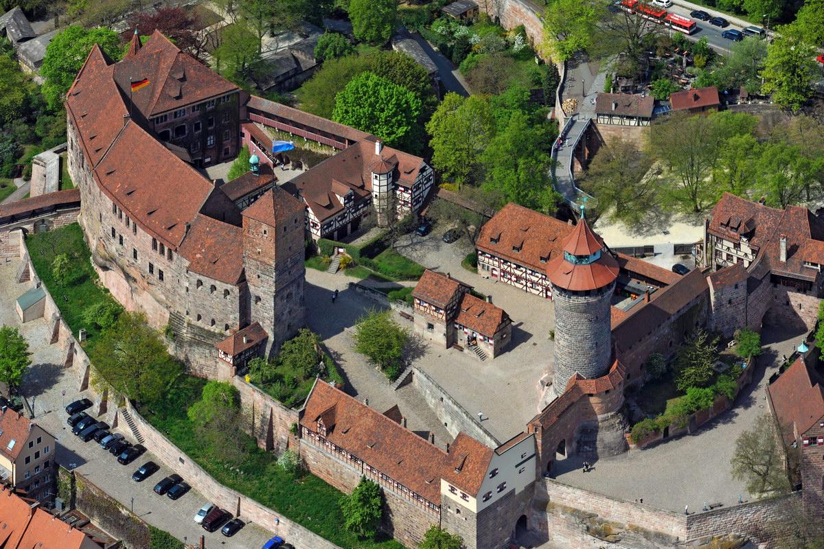 Нюрнбергская крепость. Фото —«Википедия».