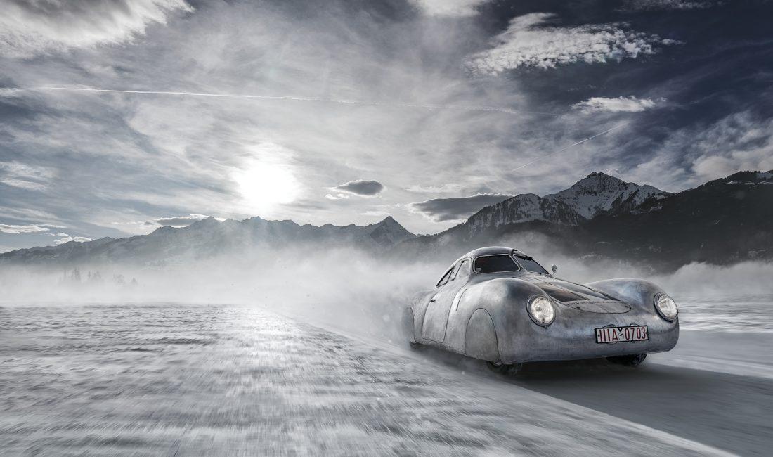 Второе место — «Porsche Type 64 Снежная гонка». Ричард Сеймур. 2020 год.