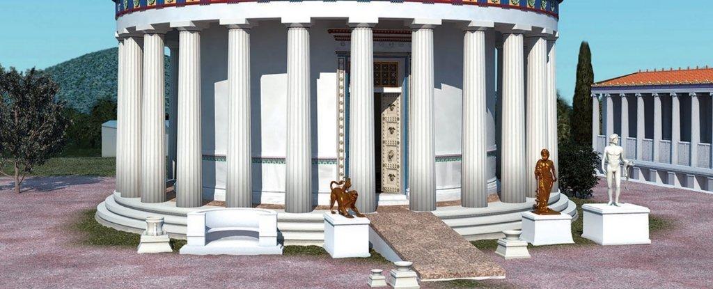 Реконструкция святилища Асклепия в Эпидавре. Автор — J. Goodinson.