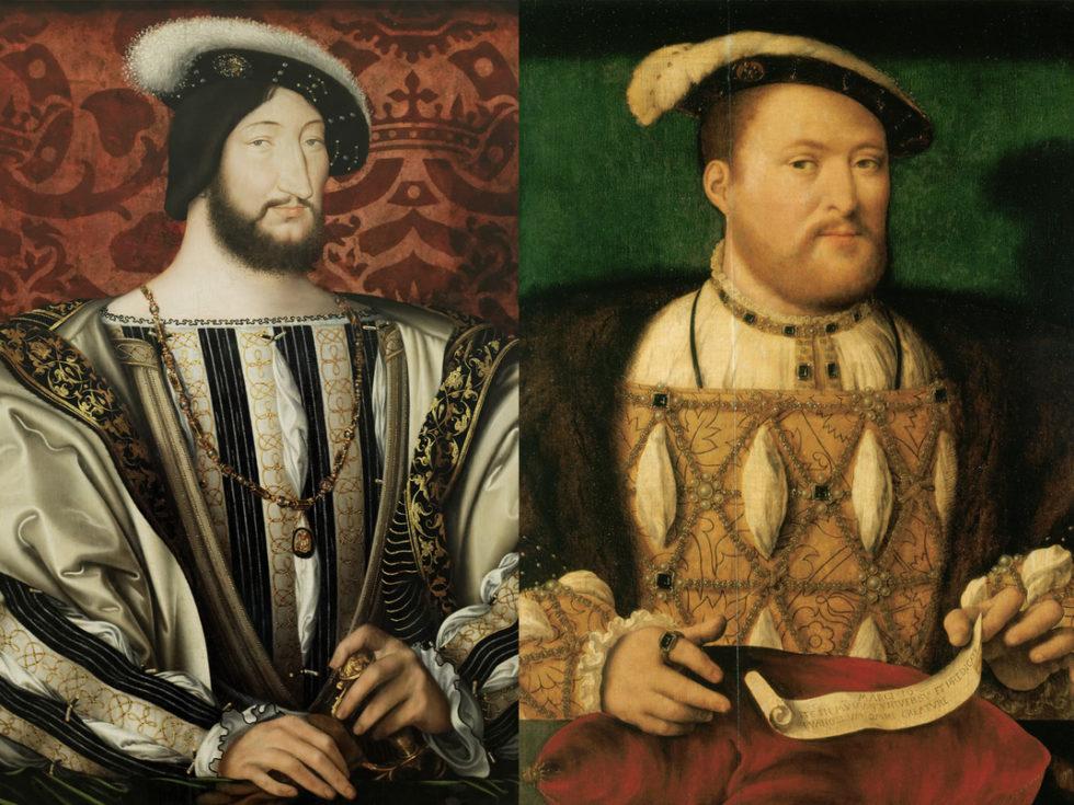 Франциск I и Генрих VIII.