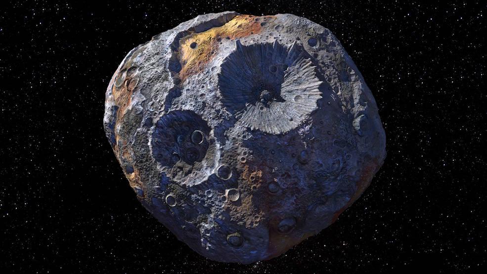 Астероид (16) Психея. Изображение — NASA.