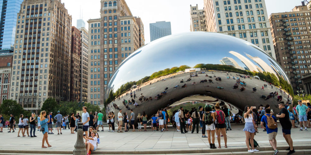 «Облачные врата» в Чикаго. Фото — Choose Chicago.